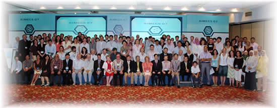 Click on the AIMECS 07 Group Picture to enlarge it